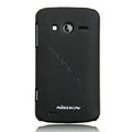Nillkin Super Matte Hard Cases Skin Covers for Philips W626 - Black
