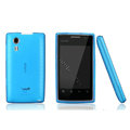 Nillkin Super Matte Rainbow Cases Skin Covers for Amoi N79 - Blue