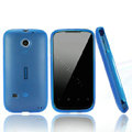 Nillkin Super Matte Rainbow Cases Skin Covers for Huawei C8650 M865 - Blue