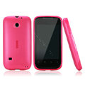 Nillkin Super Matte Rainbow Cases Skin Covers for Huawei C8650 M865 - Rose