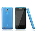 Nillkin Super Matte Rainbow Cases Skin Covers for Huawei S8600 Spark - Blue