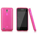 Nillkin Super Matte Rainbow Cases Skin Covers for Huawei S8600 Spark - Pink