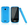 Nillkin Super Matte Rainbow Cases Skin Covers for Huawei T8300 - Blue