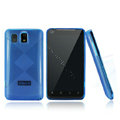 Nillkin Super Matte Rainbow Cases Skin Covers for K-touch E800 - Blue