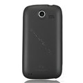 Nillkin Super Matte Rainbow Cases Skin Covers for Lenovo A750 - Core Black