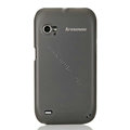 Nillkin Super Matte Rainbow Cases Skin Covers for Lenovo K2 - Black