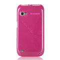 Nillkin Super Matte Rainbow Cases Skin Covers for Lenovo K2 - Pink