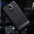 Nillkin leather Cases Holster Covers for Huawei U9200 Ascend P1 - Black