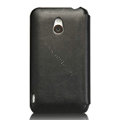Nillkin leather Cases Holster Covers for MEIZU MX - Black