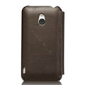 Nillkin leather Cases Holster Covers for MEIZU MX - Brown