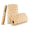 IMAK The Count leather Cases Luxury Holster Covers for iPhone 4G\4S - Golden
