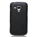 Nillkin Super Matte Hard Cases Skin Covers for Samsung S7562 Galaxy S Duos - Black