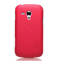 Nillkin Super Matte Hard Cases Skin Covers for Samsung S7562 Galaxy S Duos - Rose