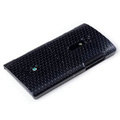 ROCK Jewel Hard Cases Skin Covers for Sony Ericsson LT28i Xperia ion - Black