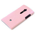 ROCK Jewel Hard Cases Skin Covers for Sony Ericsson LT28i Xperia ion - Pink