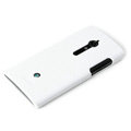 ROCK Jewel Hard Cases Skin Covers for Sony Ericsson LT28i Xperia ion - White