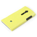 ROCK Jewel Hard Cases Skin Covers for Sony Ericsson LT28i Xperia ion - Yellow