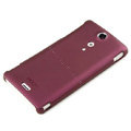 ROCK Naked Shell Hard Cases Covers for Sony Ericsson LT29i Xperia Hayabusa Xperia GX/TX - Red