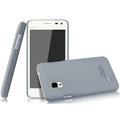 IMAK Cowboy Shell Quicksand Hard Cases Covers for BBK vivo S12 - Gray