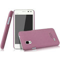 IMAK Cowboy Shell Quicksand Hard Cases Covers for BBK vivo S12 - Purple