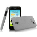 IMAK Cowboy Shell Quicksand Hard Cases Covers for Huawei C8825D U8825D G330D G330C - Gray