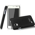IMAK Ultrathin Matte Color Covers Hard Cases for BBK vivo S12 - Black