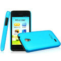 IMAK Ultrathin Matte Color Covers Hard Cases for Huawei C8825D U8825D G330D G330C - Blue