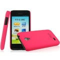 IMAK Ultrathin Matte Color Covers Hard Cases for Huawei C8825D U8825D G330D G330C - Rose