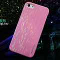Nillkin Dynamic Color Hard Cases Skin Covers for iPhone 5 - Pink