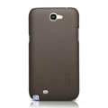 Nillkin Super Matte Hard Cases Skin Covers for Samsung N7100 GALAXY Note2 - Brown