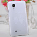 Nillkin Super Matte Rainbow Cases Skin Covers for BBK vivo S12 - White