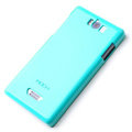 ROCK Colorful Glossy Cases Skin Covers for OPPO X905 Find 3 - Blue