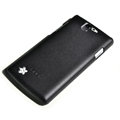ROCK Quicksand Hard Cases Skin Covers for OPPO Real R807 - Black