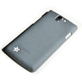 ROCK Quicksand Hard Cases Skin Covers for OPPO Real R807 - Gray