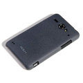 ROCK Quicksand Hard Cases Skin Covers for ZTE U960 - Black