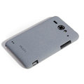 ROCK Quicksand Hard Cases Skin Covers for ZTE U960 - Gray