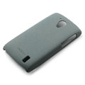 ROCK Quicksand Hard Cases Skin Covers for ZTE V881 Aglaia - Gray