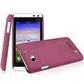IMAK Cowboy Shell Quicksand Hard Cases Covers for BBK vivo S6 - Purple