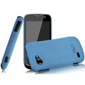 IMAK Cowboy Shell Quicksand Hard Cases Covers for Gionee GN170 - Blue
