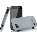 IMAK Cowboy Shell Quicksand Hard Cases Covers for Gionee GN170 - Gray