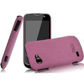 IMAK Cowboy Shell Quicksand Hard Cases Covers for Gionee GN170 - Purple