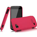 IMAK Cowboy Shell Quicksand Hard Cases Covers for Gionee GN170 - Rose