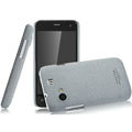 IMAK Cowboy Shell Quicksand Hard Cases Covers for Gionee GN320 - Gray