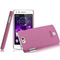IMAK Cowboy Shell Quicksand Hard Cases Covers for OPPO U701 - Purple