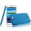 IMAK Cowboy Shell Quicksand Hard Cases Covers for Samsung N7100 GALAXY Note2 - Blue