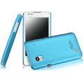 IMAK Ultrathin Matte Color Covers Hard Cases for DOOV iEva D3 - Blue