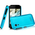 IMAK Ultrathin Matte Color Covers Hard Cases for Gionee C600 - Blue