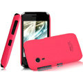 IMAK Ultrathin Matte Color Covers Hard Cases for Gionee C600 - Rose