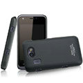 IMAK Ultrathin Matte Color Covers Hard Cases for Gionee GN109 - Black