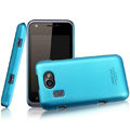 IMAK Ultrathin Matte Color Covers Hard Cases for Gionee GN109 - Blue